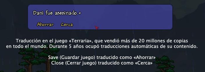 Traducción Terraria